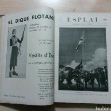 Coleccionismo de Revistas y Periódicos: VOL. ENCUADERNADO REVISTA ESPLAI 1934 IL-LUSTRACIO CATALANA 1ER SEMESTRE NO 110 AL 134 39X28CM 3,5KG. Lote 66034066