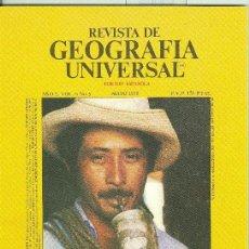 Coleccionismo de Revistas y Periódicos: REVISTA DE GEOGRAFIA UNIVERSAL VOLUMEN 5 NUMERO 5.MAYO 1979. Lote 55454585