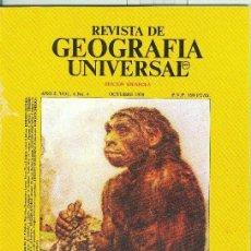 Coleccionismo de Revistas y Periódicos: REVISTA DE GEOGRAFIA UNIVERSAL VOLUMEN 4 NUMERO 4.OCTUBRE 1978. Lote 55454591