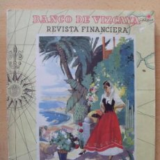 Coleccionismo de Revistas y Periódicos: REVISTA FINANCIERA. ISLAS CANARIAS / BANCO DE VIZCAYA 1950. Lote 66197798