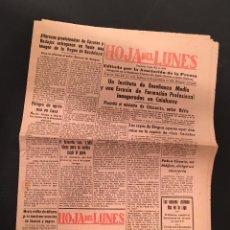 Coleccionismo de Revistas y Periódicos: HOJA DEL LUNES BADAJOZ 19 DICIEMBRE 1960 Nº 1041 EXTREMADURA. Lote 66337422