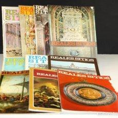 Coleccionismo de Revistas y Periódicos: 8171 - REALES SITIOS. 10 EJEMPLARES. (VER DESCRIPCIÓN). FERNANDO FUERTES. 1965/1972.. Lote 66443246
