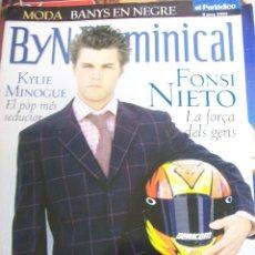 Coleccionismo de Revistas y Periódicos: BYN DOMINICAL DE 9 JUNIO 2002. Lote 66450022