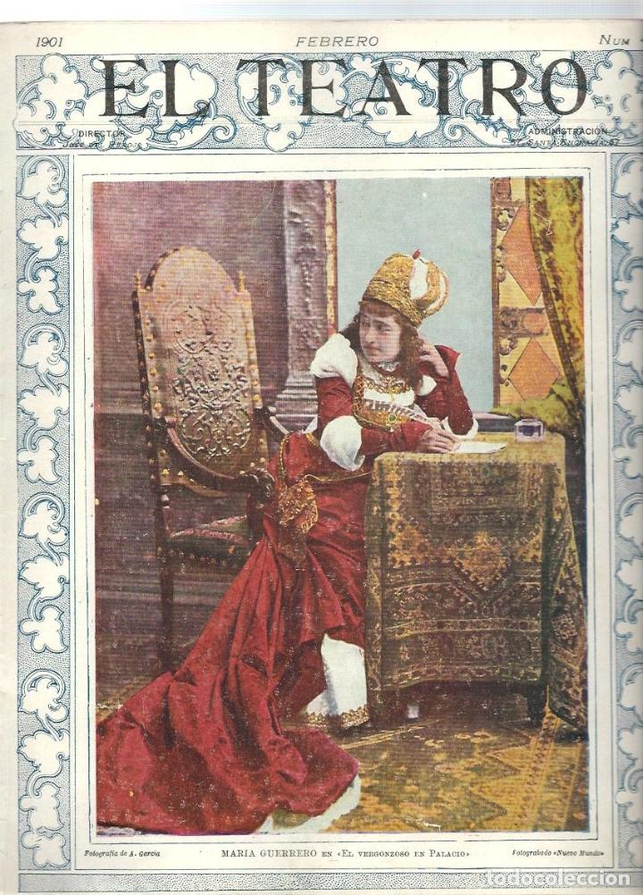 Coleccionismo de Revistas y Periódicos: LOTE DE 6 REVISTA DE - EL TEATRO - DE 1900 A 1901- NUMEROS - 2 - 3 - 4 - 5 - 6 - 7 - - Foto 4 - 66667462