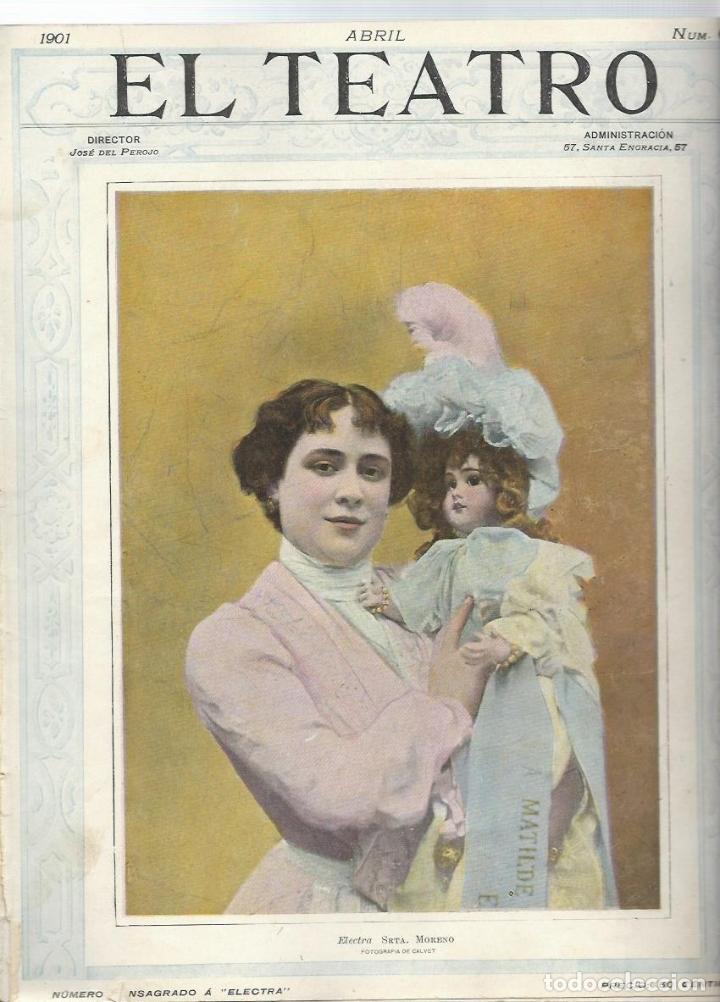 Coleccionismo de Revistas y Periódicos: LOTE DE 6 REVISTA DE - EL TEATRO - DE 1900 A 1901- NUMEROS - 2 - 3 - 4 - 5 - 6 - 7 - - Foto 6 - 66667462
