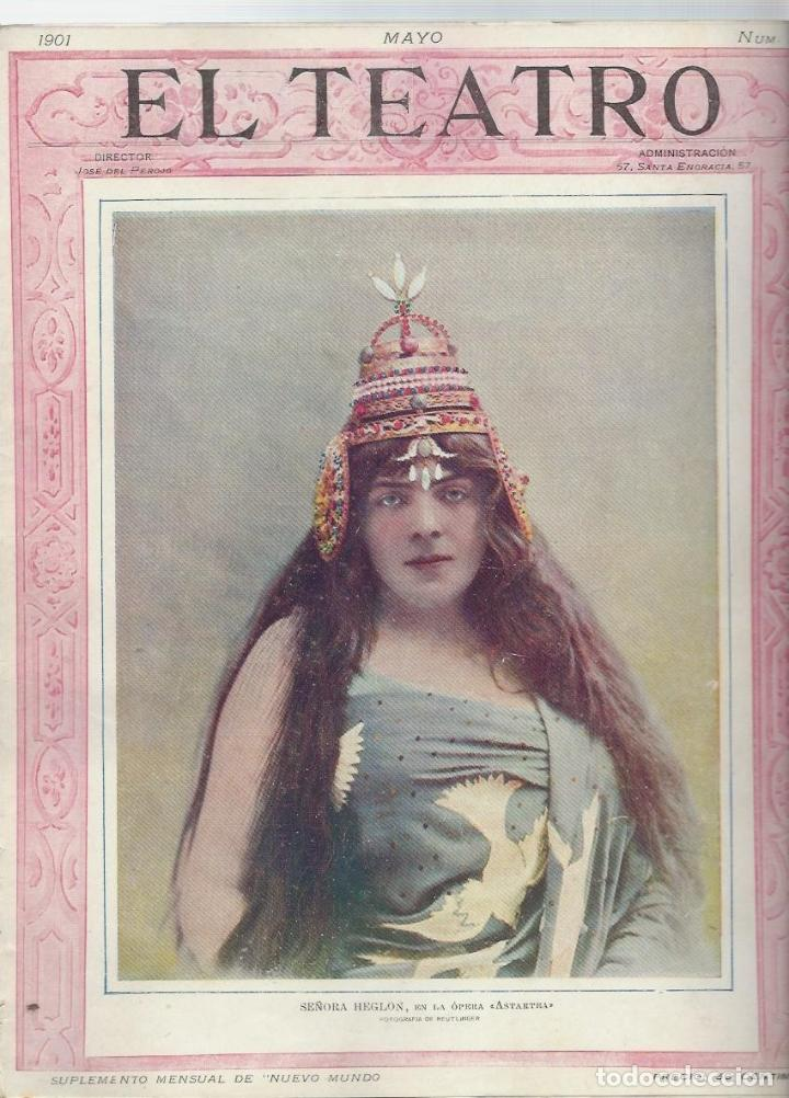 Coleccionismo de Revistas y Periódicos: LOTE DE 6 REVISTA DE - EL TEATRO - DE 1900 A 1901- NUMEROS - 2 - 3 - 4 - 5 - 6 - 7 - - Foto 7 - 66667462
