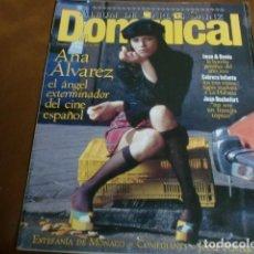 Coleccionismo de Revistas y Periódicos: REV. DOMINICAL 2/1995 ANA ALVAREZ,IMAN&BOWIE,JODIE FOSTER,ESTEFANIA MONACO,C.SANZ-POSTER-. Lote 66795050
