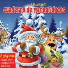 Coleccionismo de Revistas y Periódicos: CUADERNO DE MANUALIDADES N. 19 - FELIZ NAVIDAD (NUEVA). Lote 66979106