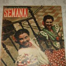 Coleccionismo de Revistas y Periódicos: REVISTA SEMANA Nº 482 - 1949. Lote 66982678