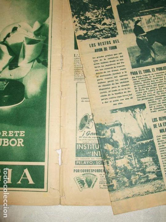 Coleccionismo de Revistas y Periódicos: REVISTA SEMANA Nº 482 - 1949 - Foto 2 - 66982678