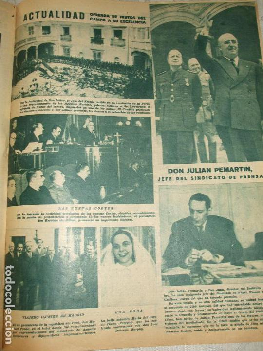 Coleccionismo de Revistas y Periódicos: REVISTA SEMANA Nº 482 - 1949 - Foto 3 - 66982678