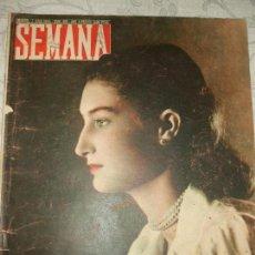 Coleccionismo de Revistas y Periódicos: REVISTA SEMANA Nº 485 - 1949. Lote 66983010