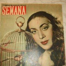 Coleccionismo de Revistas y Periódicos: REVISTA SEMANA Nº 484 - 1949. Lote 66995482