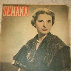 Coleccionismo de Revistas y Periódicos: REVISTA SEMANA Nº 714 - 1953. Lote 66997134