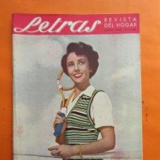 Coleccionismo de Revistas y Periódicos: REVISTA LETRAS DEL HOGAR JUNIO DE 1951 - . Lote 66999454