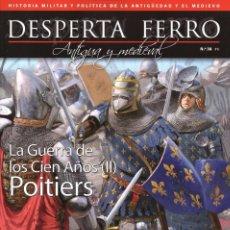 Coleccionismo de Revistas y Periódicos: DESPERTA FERRO ANTIGUA Y MEDIEVAL N. 38 - EN PORTADA: LA GUERRA DE LOS CIEN AÑOS (II) (NUEVA). Lote 172022748