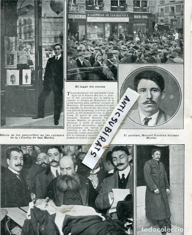 Revista a o 1912 asesinato de jose canalejas me comprar for Libreria puerta del sol