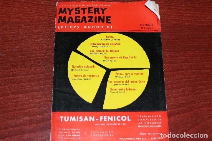 REVISTA MYSTERY MAGAZINE ELLERY QUEEN´S OCTUBRE 1963 (Coleccionismo - Revistas y Periódicos Modernos (a partir de 1.940) - Otros)