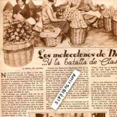 Coleccionismo de Revistas y Periódicos: REVISTA 1932 MELOCOTONES DE NALDA LA RIOJOA PEPE GALLARDO ALCALDE SEVILLA LA BANDERA TESORO DE VIGO. Lote 67479697
