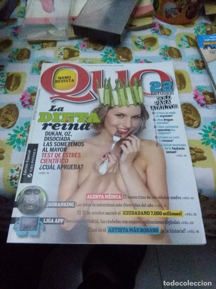 NANO REVISTA QUO. Nº 194 NOVIEMRE 2011. B10R (Coleccionismo - Revistas y Periódicos Modernos (a partir de 1.940) - Otros)