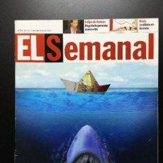 Coleccionismo de Revistas y Periódicos: REVISTA SUPLEMENTO SEMANAL Nº 724- 9 SEP 2001. MICHAEL JACKSON, CHRISTINA AGUILERA.... Lote 67625253