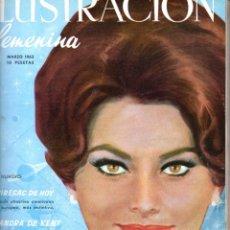 Coleccionismo de Revistas y Periódicos: ILUSTRACIÓN FEMENINA AÑO COMPLETO 1962 - DOCE NÚMEROS ENCUADERNADOS. Lote 67649993