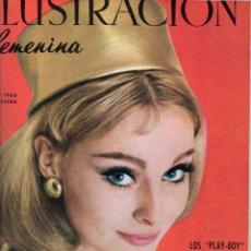 Coleccionismo de Revistas y Periódicos: ILUSTRACIÓN FEMENINA AÑO COMPLETO 1963 - DOCE NÚMEROS ENCUADERNADOS. Lote 67650069