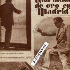 Coleccionismo de Revistas y Periódicos: REVISTA 1933 GEODESIA MINA DE ORO EN MADRID PENDULO HUERTA DEL MORO EN EL PASEO DE LAS DELICIAS. Lote 67658185