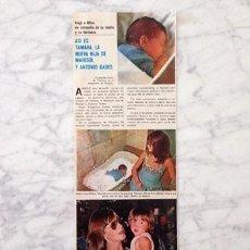 Coleccionismo de Revistas y Periódicos: RECORTE - MARISOL - 1976. Lote 67659953