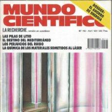 Coleccionismo de Revistas y Periódicos: MUNDO CIENTIFICO DOSSIER: EL AHORRO DE ENERGÍA. Lote 67711693