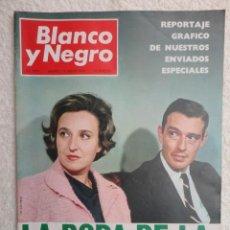 Coleccionismo de Revistas y Periódicos: REVISTA BLANCO Y NEGRO Nº 2.871 AÑO 1.967 -LA BODA DE LA INFANTA PILAR -PAPANDREU -LA INDIA. Lote 67750781