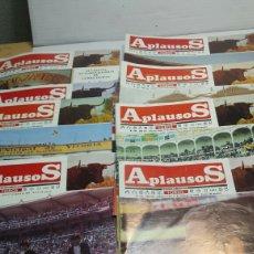 Coleccionismo de Revistas y Periódicos: LOTE DE REVISTAS TAURINAS APLAUSOS AÑO 1984. Lote 67781939
