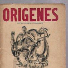 Coleccionismo de Revistas y Periódicos: ORIGENES. REVISTA DE ARTE Y LITERATURA. LA HABANA. 1955. Nº 38. PAUL CLAUDEL, DYLAN THOMAS, E.FLORIT. Lote 67810621