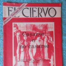 Coleccionismo de Revistas y Periódicos: REVISTA EL CIERVO Nº 406 AÑO 1984 -CASARSE O NO CASARSE -QUE QUEDA DE 1984 -VICENTE ALEIXANDRE. Lote 67850765