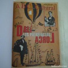 Coleccionismo de Revistas y Periódicos: ABC CULTURAL - 17 SUPLEMENTOS - DEL NUM. 183 AL 199 - DEL 5 DE MAYO A 25 DE AGOSTO DE 1995. Lote 67888717