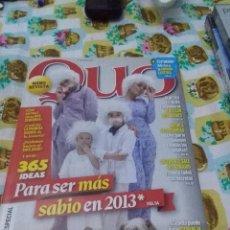 Coleccionismo de Revistas y Periódicos: NANO REVISTA QUO. Nº 208 ENERO 2013. B10R. Lote 67910709