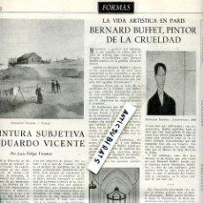 Coleccionismo de Revistas y Periódicos: REVISTA 1953 EMILIO VENDRELL EDUARDO COLOM JAUME VIDAL GONZALEZ-RUANO EDUARDO VICENTE BERNARD BUFFET. Lote 67924193