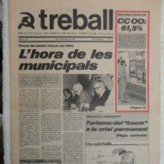 Coleccionismo de Revistas y Periódicos: PERIODICO TREVALL Nº 514 AÑO 1978 , ELECCION SINDICALS - L`HORA DE LES MUNICIPALS -TURISME -L`ESCOLA. Lote 67935821