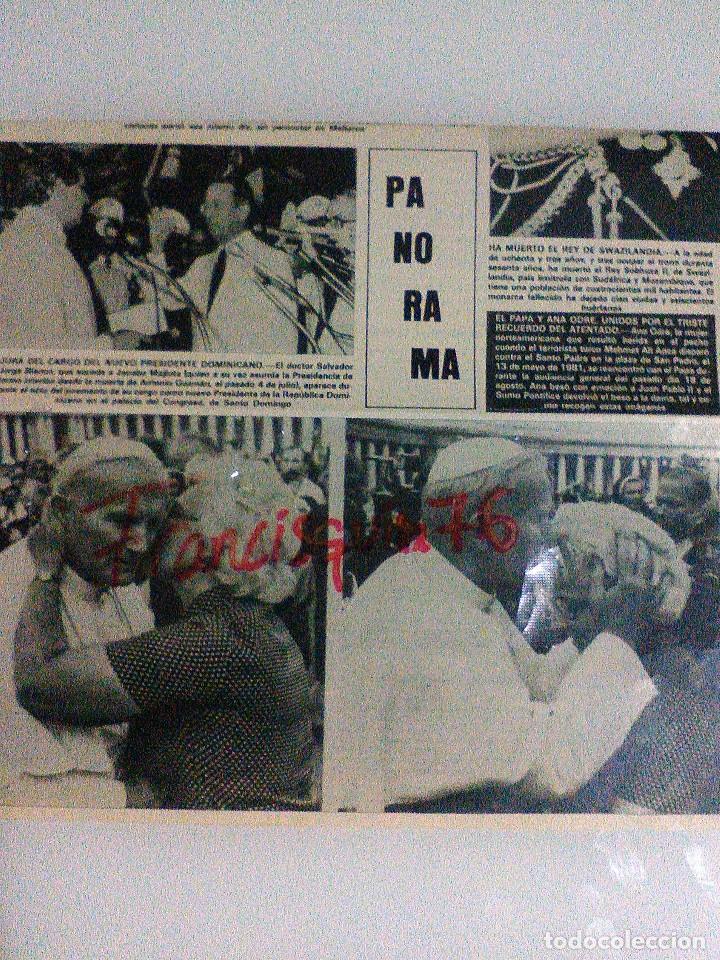 JUAN PABLO II PAGINA DE REVISTA DE 1982 EN BUEN ESTADO (Coleccionismo - Revistas y Periódicos Modernos (a partir de 1.940) - Otros)