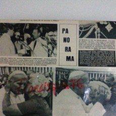 Coleccionismo de Revistas y Periódicos: JUAN PABLO II PAGINA DE REVISTA DE 1982 EN BUEN ESTADO. Lote 67963665