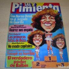 Coleccionismo de Revistas y Periódicos: REVISTA SAL Y PIMIENTA Nº91 JUNIO 1981 ENVIO GRATUITO. Lote 68021441