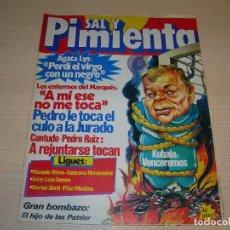 Coleccionismo de Revistas y Periódicos: REVISTA SAL Y PIMIENTA Nº58 NOVIEMBRE 1980 ENVIO GRATUITO. Lote 68069057