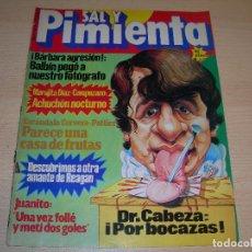 Coleccionismo de Revistas y Periódicos: REVISTA SAL Y PIMIENTA Nº71 FEBRERO 1981 ENVIO GRATUITO. Lote 68069537