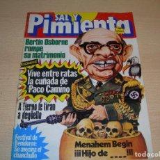 Coleccionismo de Revistas y Periódicos: REVISTA SAL Y PIMIENTA Nº151 AGOSTO 1982 ENVIO GRATUITO. Lote 68069861