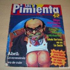 Coleccionismo de Revistas y Periódicos: REVISTA SAL Y PIMIENTA Nº2 OCTUBRE 1979 ENVIO GRATUITO. Lote 68075401