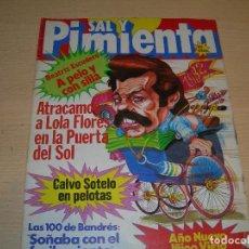 Coleccionismo de Revistas y Periódicos: REVISTA SAL Y PIMIENTA Nº118 DICIEMBRE 1981 ENVIO GRATUITO. Lote 68076021