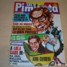Coleccionismo de Revistas y Periódicos: REVISTA SAL Y PIMIENTA Nº196 JUNIO 1983 ENVIO GRATUITO. Lote 68076485
