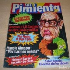 Coleccionismo de Revistas y Periódicos: REVISTA SAL Y PIMIENTA Nº125 FEBRERO 1982 ENVIO GRATUITO. Lote 68077993