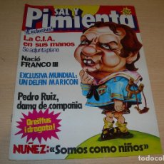 Coleccionismo de Revistas y Periódicos: REVISTA SAL Y PIMIENTA Nº168 DICIEMBRE 1982 ENVIO GRATUITO. Lote 68078221