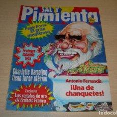 Coleccionismo de Revistas y Periódicos: REVISTA SAL Y PIMIENTA Nº119 ENERO 1982 ENVIO GRATUITO. Lote 68078289